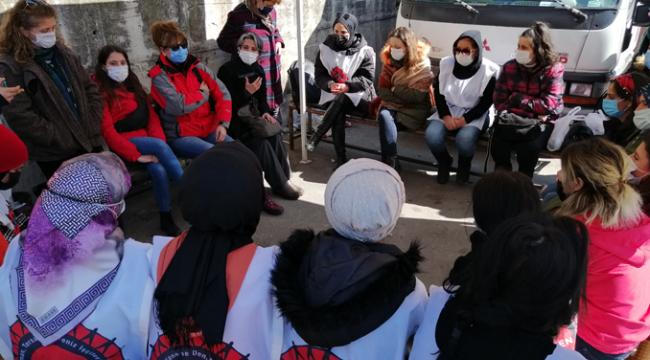 """Kocaeli Kadın Platformu; ''Duruşunuz 2021 8 Mart'ı açısından önemli"""""""