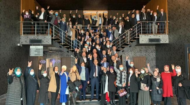 MHP Kocaeli, 2021 çalışma programlarını değerlendirdi!