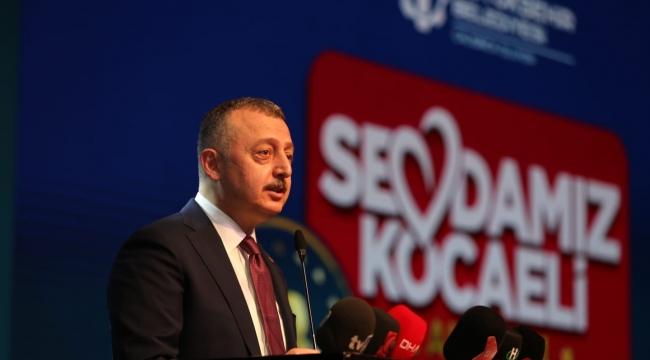 Kocaeli Büyükşehir, 2 yılda 4 Milyar TL'lik yatırım yaptı!