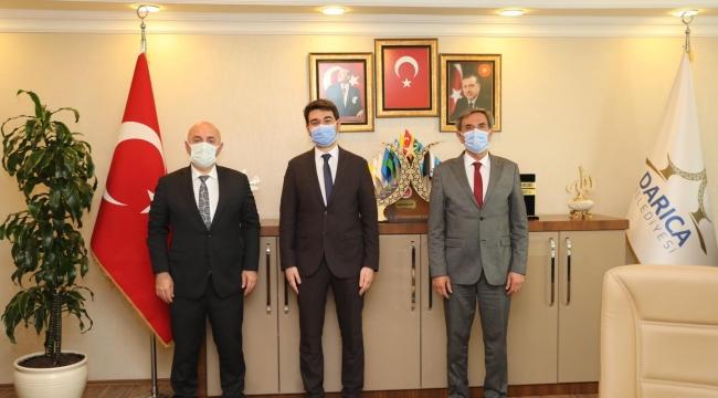 Başkan Bıyık, Tunalı'ya başarılar diledi