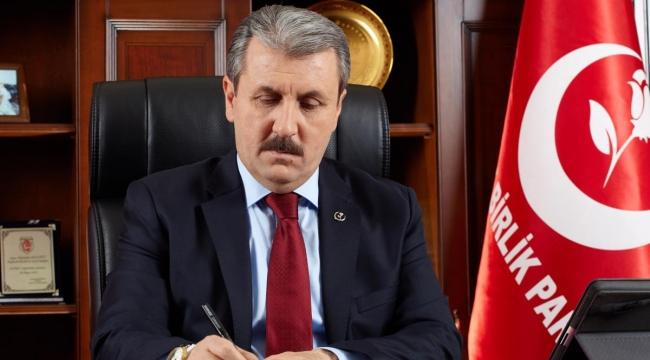 BBP Genel Başkanı Mustafa Destici, Kocaeli'ye geliyor