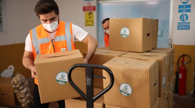 Çayırova'da ihtiyaç sahiplerine sıcak yemek ve gıda yardımı