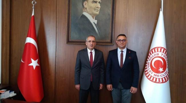 CHP'li Aktaş, TBMM Başkanvekili Haydar Akar'ı ziyaret etti