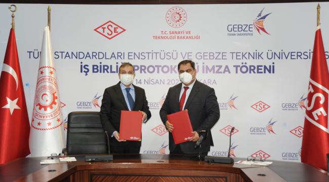 Gebze Teknik Üniversitesi ve TSE arasında işbirliği