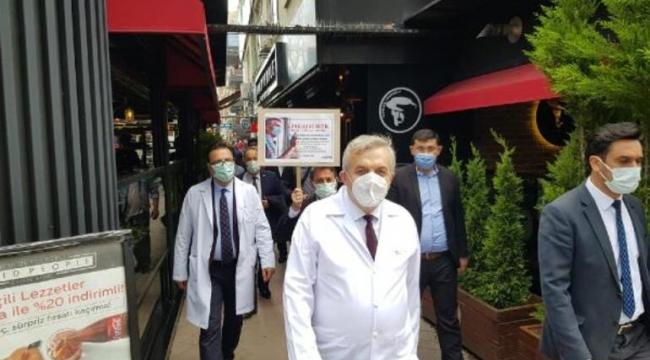 Kocaeli'de doktorlar beyaz önlükleriyle sokağa indi!