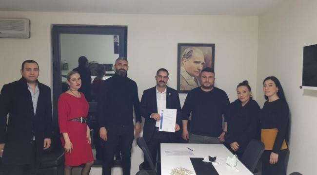 MÇP Darıca'da Başkan Onur İgit oldu
