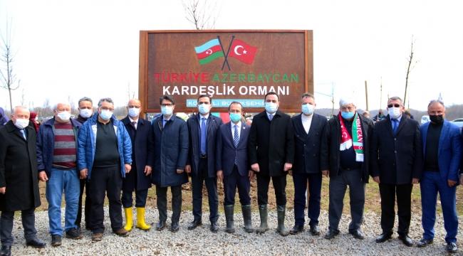Türkiye – Azerbaycan Kardeşliği bir kez daha Kocaeli'de yeşerecek