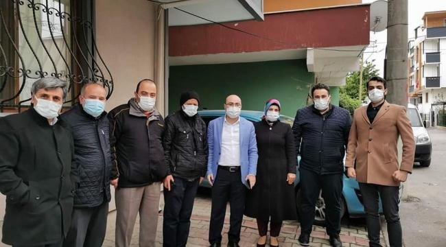 AK Parti Darıca her gün bir mahallede vatandaşlarla buluşuyor