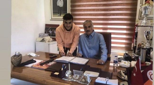 Darıca'da futbola başladı, Galatasaray'a imza attı!