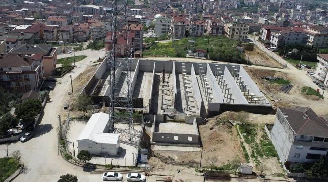 Darıca'da içme suyu depolama merkezi inşaatı sürüyor
