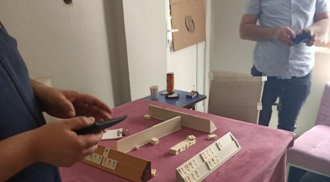 Darıca'da kumar oynayan 10 kişi polise yakalandı!