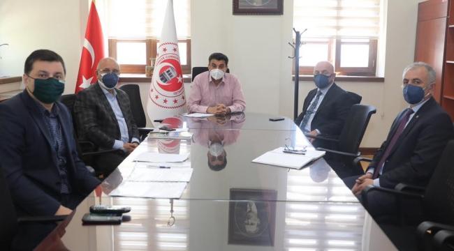 Darıca'da kurulacak pazarlar için komisyon toplantısı yapıldı