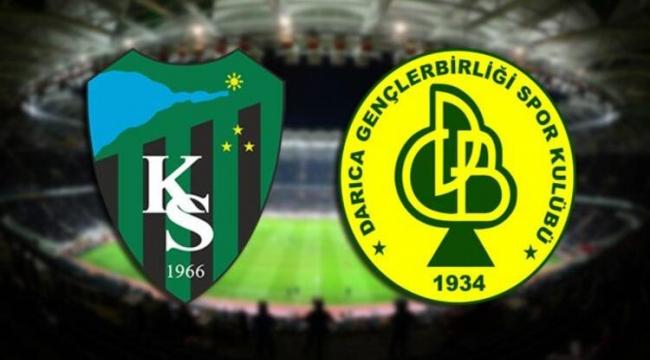 Darıca G.B'den Kocaelispor'a tebrik!