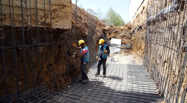 Gebze'de dere ıslahı ve altyapı çalışmaları başladı