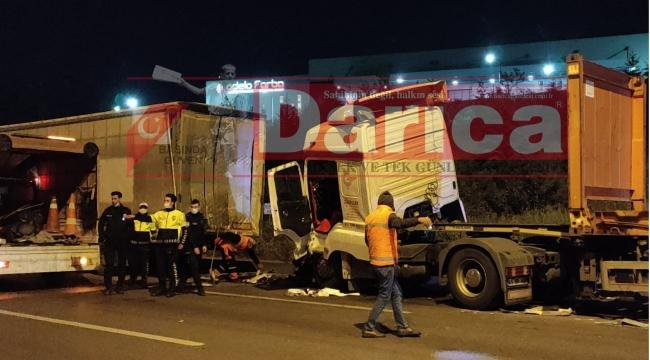 Kazada 1 kişi ağır yaralandı