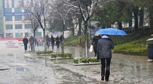 Kocaeli için sağanak yağış uyarısı!