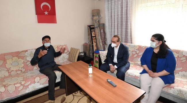 Vali Yavuz, Şehit ve Gazi ailelerini ziyaret etti