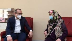 Vali Yavuz, Şehit Annelerinin Anneler Günü'nü kutladı