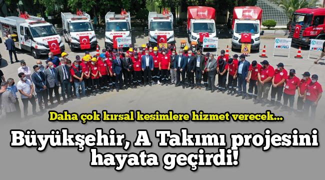 Büyükşehir, A Takımı projesini hayata geçirdi!