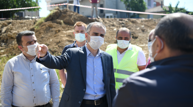 Çayırova Atatürk Mahallesi'ne yeni park!