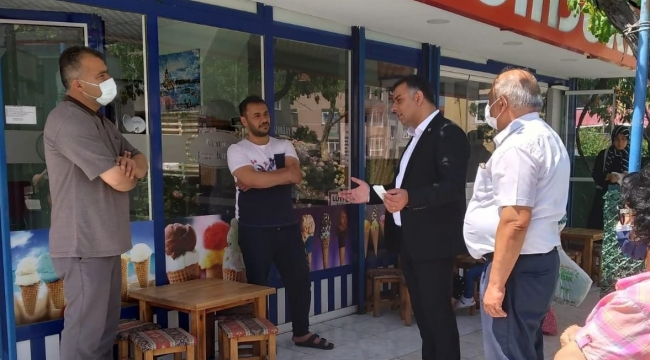 Aktaş; ''CHP iktidarında esnafın yüzü gülecek''