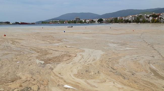 Marmara Denizi'nden 4 bin 929 metreküp müsilaj toplandı