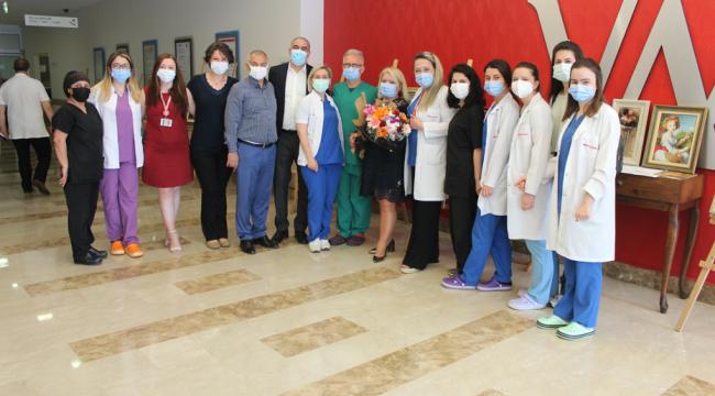 Medical Park Gebze'de Goblen Sanatı Sergisi yapıldı