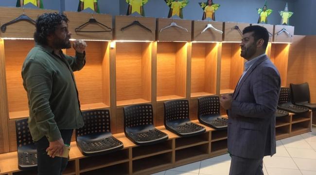 Yeni Spor Müdürü, Darıca G.B Tesisleri'ni ziyaret etti