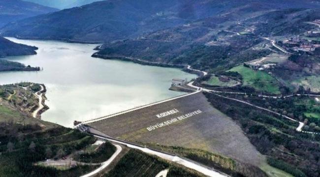 Yuvacık Barajı'nda su seviyesi %98 seviyesinde