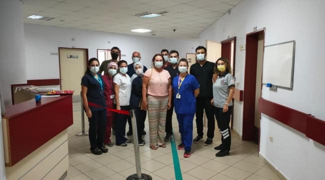Darıca'da sağlık çalışanları bayramlaştı!