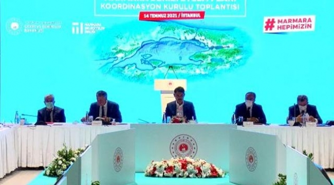 Marmara Denizi Koruma Eylem Planı Koordinasyon Kurulu'nun ikinci toplantısı başladı