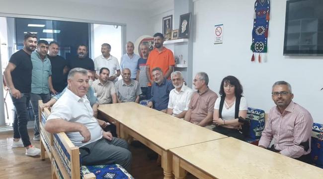 Milletvekili Gergerlioğlu, Darıca'da dernekleri ziyaret etti