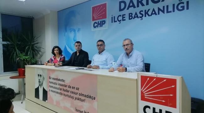 Aktaş; Darıca'yı Sosyal Demokrasinin kalesi yapacağız!