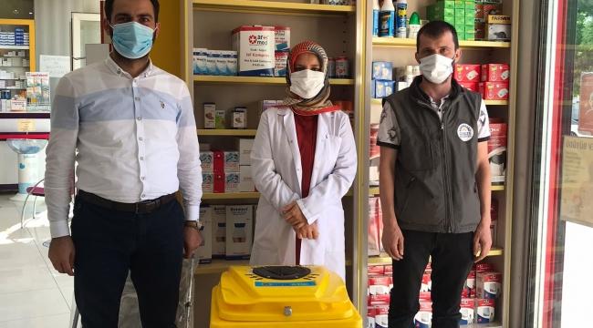 Gebze'de tarihi geçmiş ilaçlar toplanıyor!
