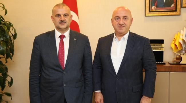 MHP Darıca, Başkan Bıyık'ı ziyaret etti