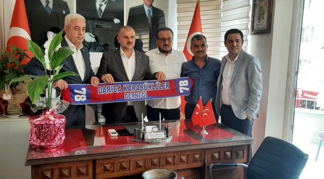 MHP Darıca'da Başkan Bektaş'a ziyaretler sürüyor