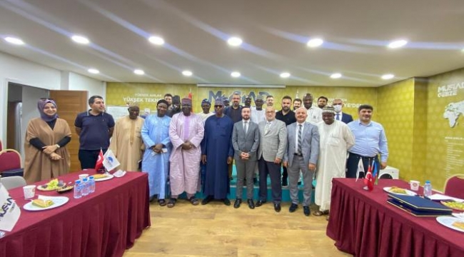 Nijerya heyetinden Gebze MÜSİAD'a ziyaret