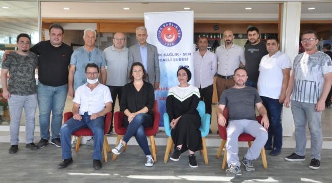 Türk Sağlık-Sen Kocaeli ailesi Darıca'da buluştu