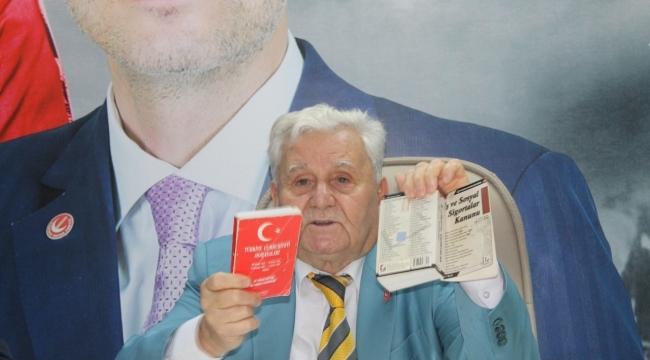 Yeniden Refah Partisi Kocaeli'den aşı ve PCR çağrısı