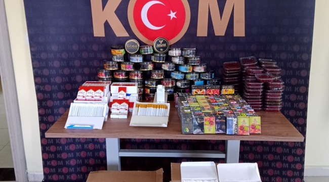 Darıca'da kaçak sigara operasyonu: Binlerce boş ve tütün dolu makaron ele geçirildi!