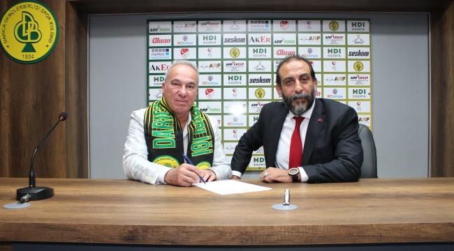 Darıca G.B'de yeni teknik direktör Cengiz Seçsev oldu!