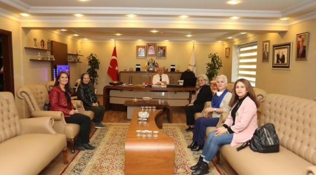 YAS-DER'den Başkan Bıyık'a ziyaret