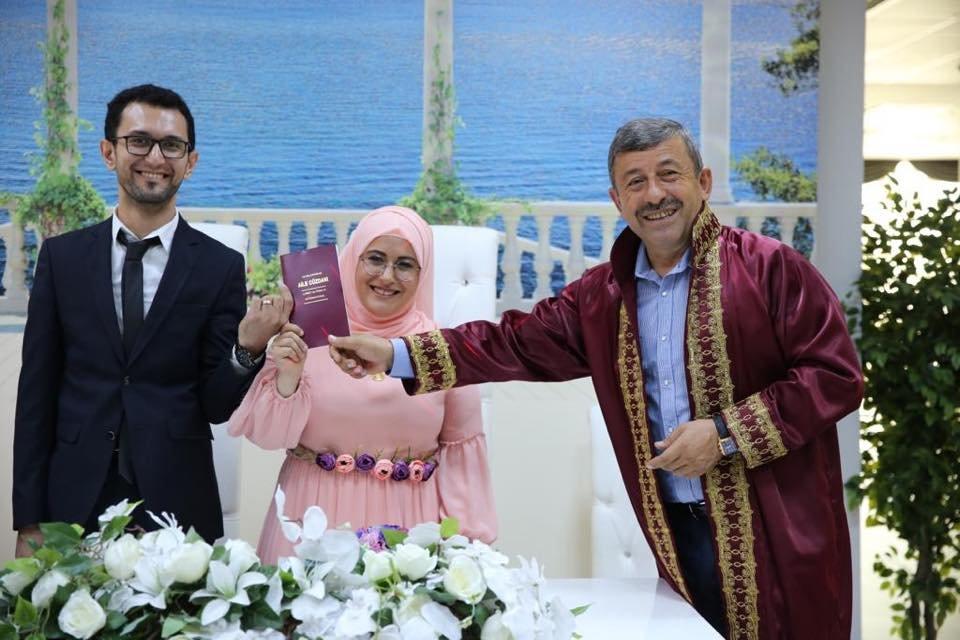 Mehmet Gebeş dünya evine girdi
