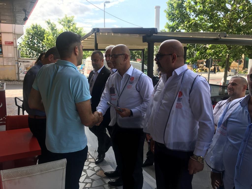 MHP Darıca'dan İstanbul seçimlerinde destek!