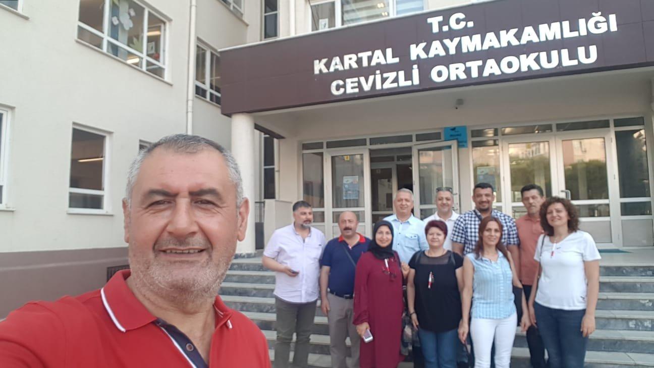 CHP Darıca, Kartal'a çıkarma yaptı