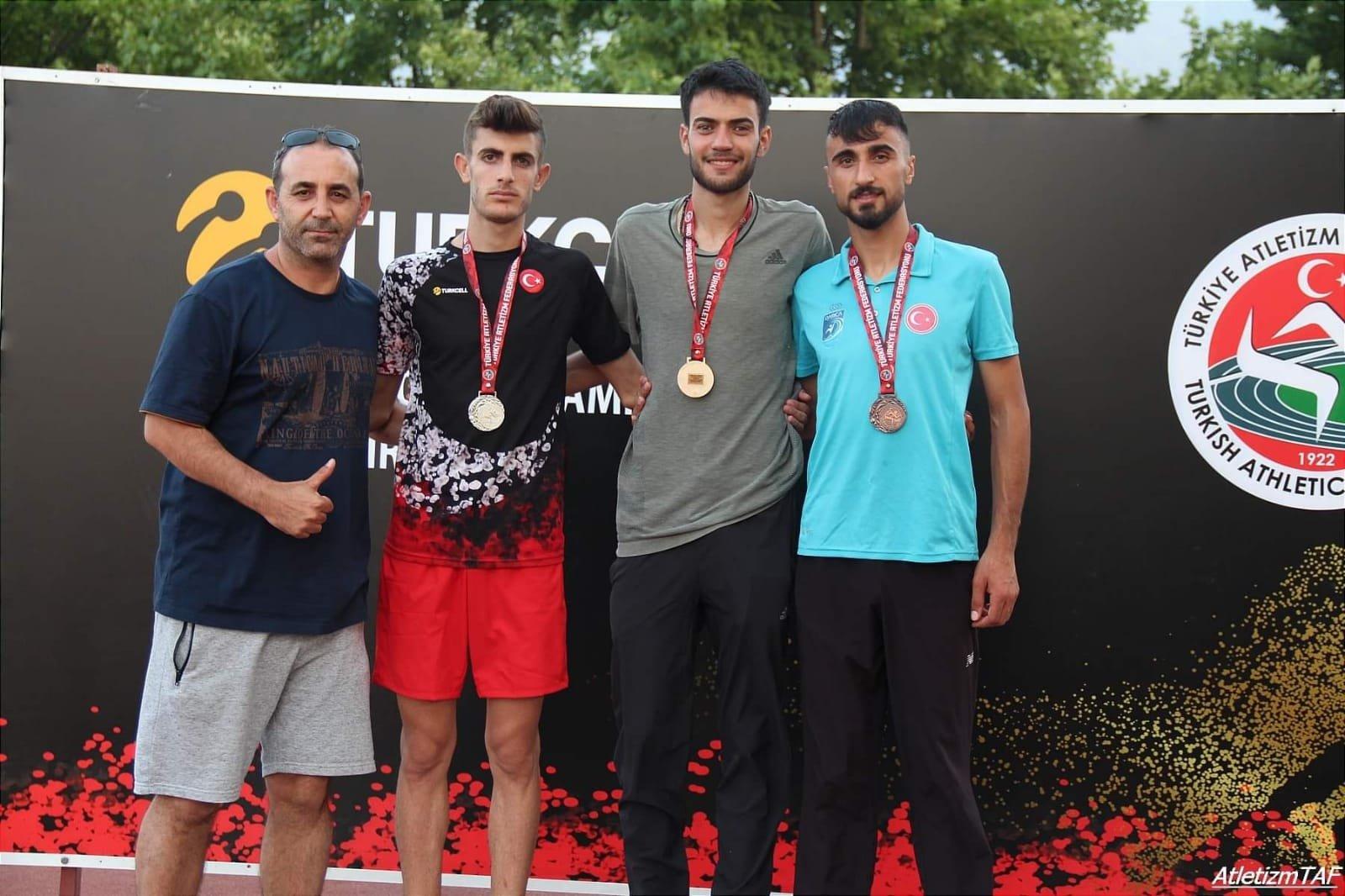 Darıca'lı atletlerden 4 madalya