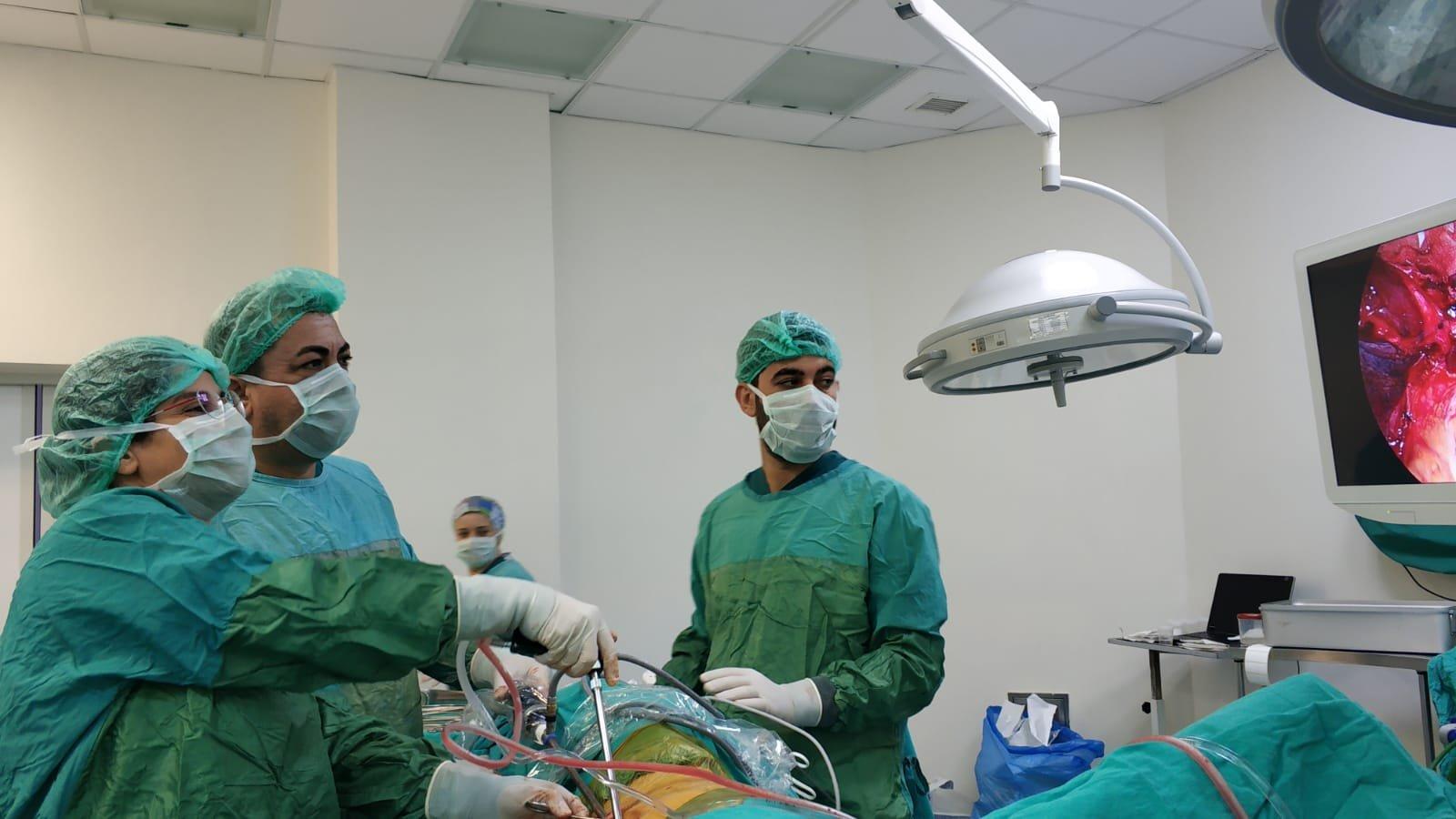 Farabi'de akciğer kanseri ameliyatları kapalı olarak yapılıyor
