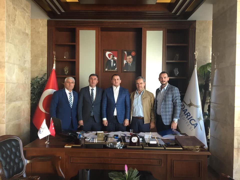 Şentürk'e ziyaretler sürüyor