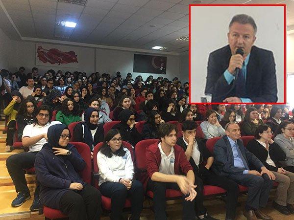 Darıca Fen Lisesi, Doç Dr. Aydın'ı ağırladı