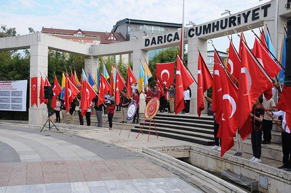 Darıca'da 29 Ekim kutlamaları başladı